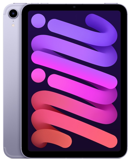 iPad mini purpura